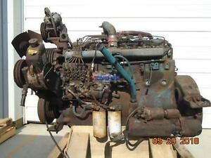 International Dta466 Engine Complete Good Running A Esn 466tm2u459004