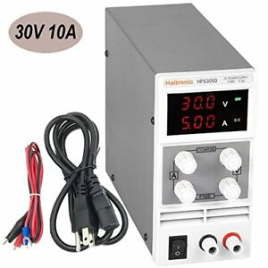 Haitronic Dc 30v 10a Adjustable Switching Dc Power Supply From Input Ac 110v To
