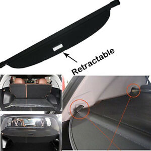 Aluminum Alloy Rear Trunk Tonneau Cargo Cover Shade For2011 To 2016 Kia Sportage