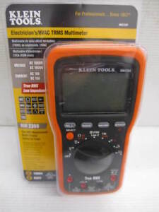 new Klein Tools Mm2300 Electrician s hvac Trms Multimeter