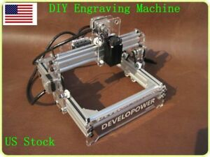 Us Diy Laser Engraving Machine Cutter For Wood Plastic Paper Bamboo 170 200mm