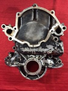 Ford Mustang 289 302 Boss 302 351w Engine Timing Chain Cover C8ae 6059 a