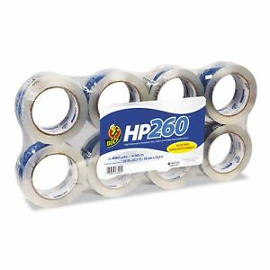 1 eight Pack Duck Brand Hp 260 1 88 Hp Packing carton Tape 60 Yards Per Roll
