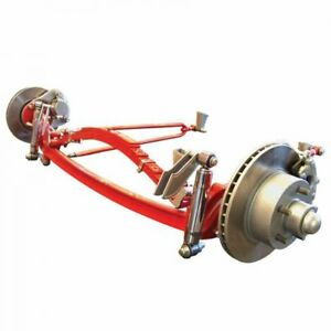 Deluxe I Beam Solid Axle Front End Kit Complete With Steering Panhard Bar