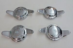 New Set Of 4 Knock Off Knockoff Nuts For Wire Wheel Mg Midget Mgb 8tpi Mg Logo