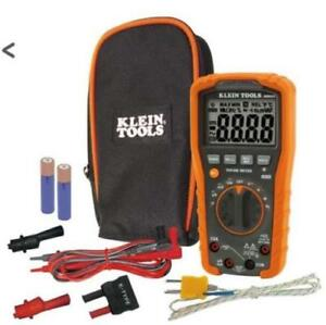 Klein Tools Mm600 Auto ranging Digital Multimeter 1000v New