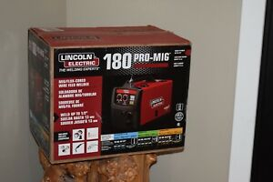 Lincoln Electric 180 Pro mig Mig flux Cored Wire Feed Welder K2481 1