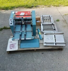 Baumfolder Baum Folder 714 14x20 Friction Feed Table Top Paper Will Ship