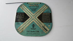 Industrial Doall Band Saw Blade Doall Precision Saws