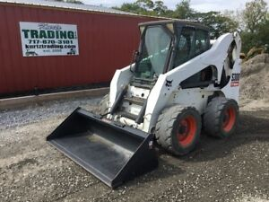 2007 Bobcat S300 Skid Steer Loader W cab