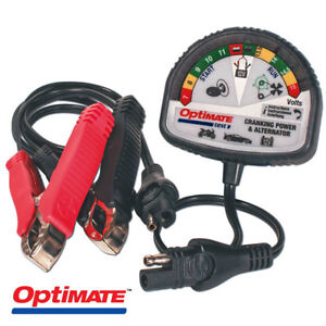 New Tecmate Optimate Cranking And Alternator 12v Charging System Tester Ts 121