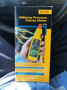 Fluke 771 Milliamp Process Clamp Meter New In Box