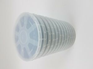 12 Pcs Of 4 Test Grade Single side Polished Silicon Wafer In Individual Holder