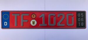 European Euro Uk Eu Jdm Full Color License Plate Car Universal New