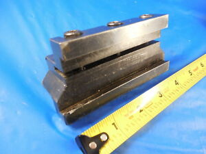 Ptnn 19 6 Lathe Cut Off Parting Blade Tool Holder 3 4 Holds A 1 1 4 Tall Blade