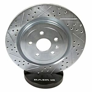 Baer Brakes 05556 020 Rear Sport Rotors For 1984 1987 Chevrolet Corvette
