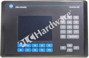 Allen Bradley 2711 b6c8 c Panelview 600 Color Keypad touch Dh rs 232 Frn 4 48