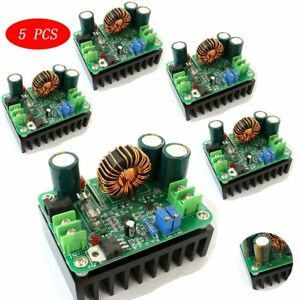 5x Dc dc 600w 10 60v To 12 80v Boost Converter Step up Module Car Power Supply F