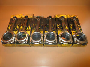 1948 1953 Chevrolet Nos Gm 216 235 Connecting Rods 3701889 set Of Six