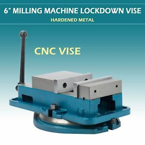 6 Hardened Milling Machine Vise Lockdown Cnc Worktable Bench Clamp Clamping