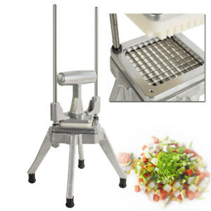 Commercial Vegetable Fruit Dicer Slicer Cutter Onion Tomato Cucumber Chopper