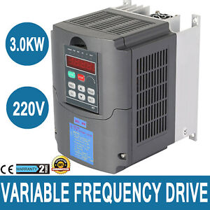 3 0kw 4hp 220v 13a Variable Frequency Drive Vfd Avr Cnc Capability Inverter