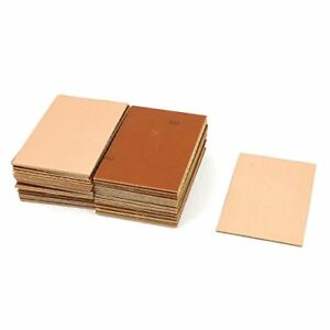 Uxcell A15071000ux0213 50 Piece 70 X 100 X 1 5 Mm Fr 4 Single Side Copper Clad P