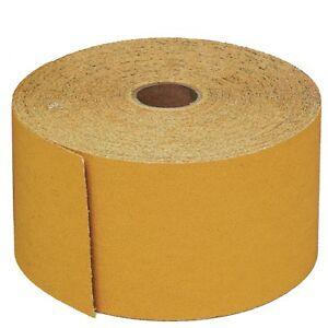 3m 02590 More Grits Stikit 2 3 4 Inch X 45 Yard Roll Sandpaper Gold