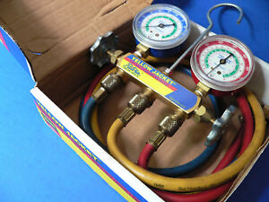 Ritchie Yellow Jacket Test And Charging Manifold 41213 R 12 22 502