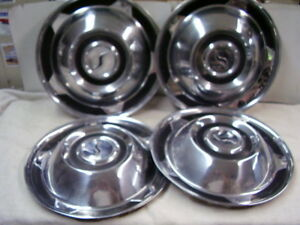 1958 Studebaker Hubcap Set All 4 Look Nice On Other Years Too