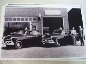 1952 Hudson Jet Police Cars 11 X 17 Photo Picture
