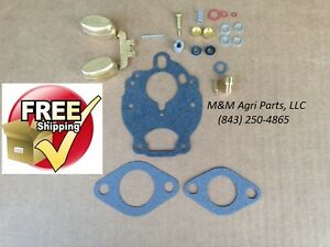 Zenith Carburetor Kit Float Ih Farmall 454 504 544 574 656 666 674 686 2504