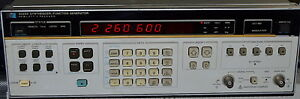 Hp 3325a Synthesizer function Generator used Hewlett Packard
