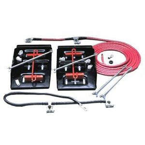 Taylor Wire Vertex 48500 Dual Mount Battery Relocator Kit