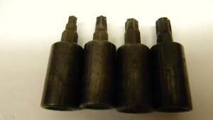 Matco Tools 3 8 Drive 4pc Torx Bit Socket Set T30 40 45 47