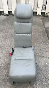 2005 2010 Honda Odyssey Olive Leather 2nd Row Middle Jump Seat