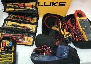 Fluke Clamp Meter 381 Pro3000 Probe Tlk 225 Accessories Ideal 61 521
