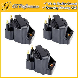 Oem Quality Ignition Coil 3pcs For Buick Cadillac Chevrolet Gmc Isuzu Oldsmobile