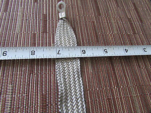 15 Long Universal Automotive Ground Strap 3 4 Tinned Braid With 5 16 Terminals