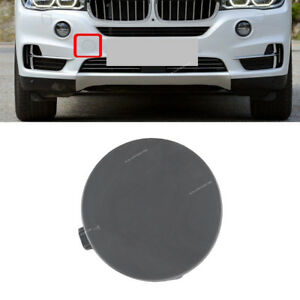Front Bumper Tow Hook Eye Cover Cap Insert Unpainted For Bmw X5 F15 2014 17