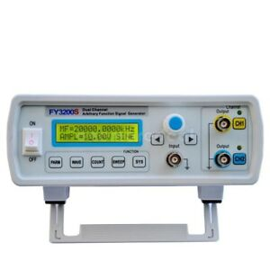 24mhz Dual channel Arbitrary Waveform Dds Function Signal Generator Kit Fy32 ser