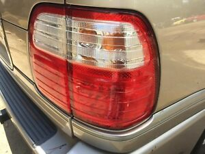 Lx470 Right Passenger Taillight Far Outside 98 04 Oem Rear Lens Factory Back
