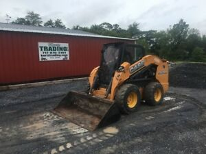 2011 Case Sv300 Skid Steer Loader W Cab Joysticks High Flow