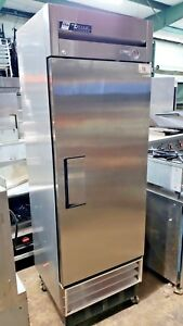 True Single Door Stainless Steel Freezer Model T 23f