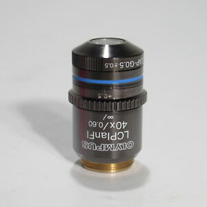 Olympus Lcplanfl 40x 0 60 Corrective Collar Objective With Cap g0 5 0 5