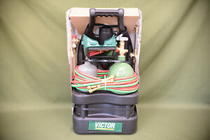 Military Victor Portable Welding Torch Outfit Tote Kit G150 100 cpt 0384 0944