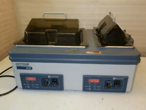 Thermo Fisher Scientific Isotemp 215 Double Water Bath Works Great