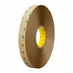 3m 9505 Adhesive Transfer Tape 9505 Clear 1 In X 60 Yd 5 Mil 36 Rolls