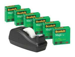 Mmm810c40bk Scotch Magic Invisible Tape Price Is For 12 Pack