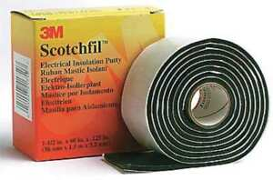 Scotchfil Electrical Insulation Putty 1 1 2 X 60 Price Is For 12 Rolls
